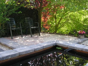 Verwerking tuinmaterialen
