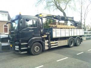 vracht hout